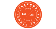 tuxedos and tennis shoes logo