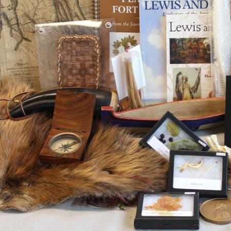 lewis and clark burke box contents