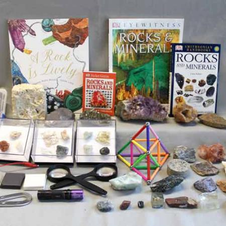 rocks and minerals burke box contents