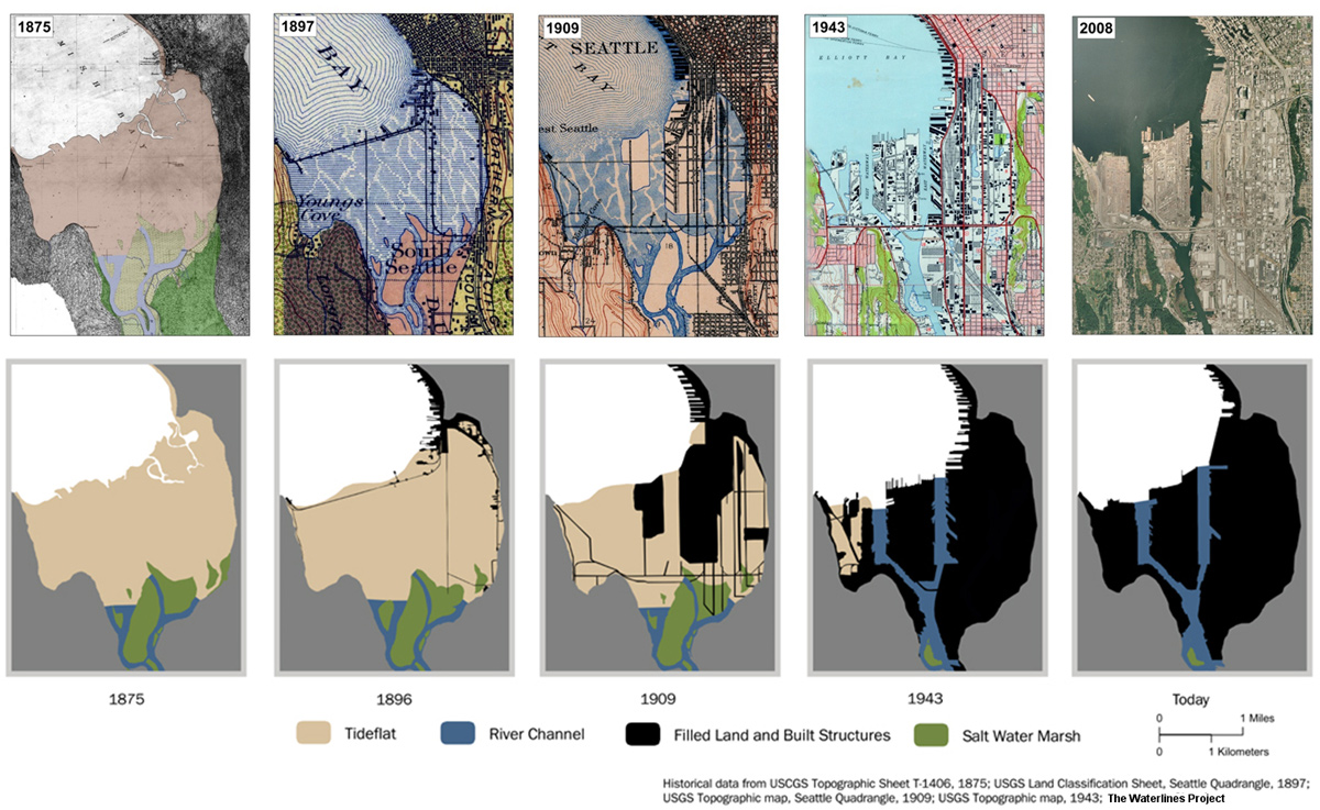 Waterlines Maps  Images